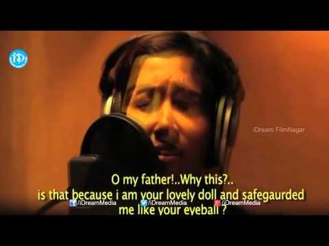 Shreya Ghoshal Pavunai Song Making | Anjali Patil, Naa Bangaru Thalli Movie | Laxmi Menon