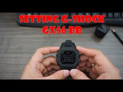 Tutorial Setting G-SHOCK GX56 BB (Bahasa Indonesia)
