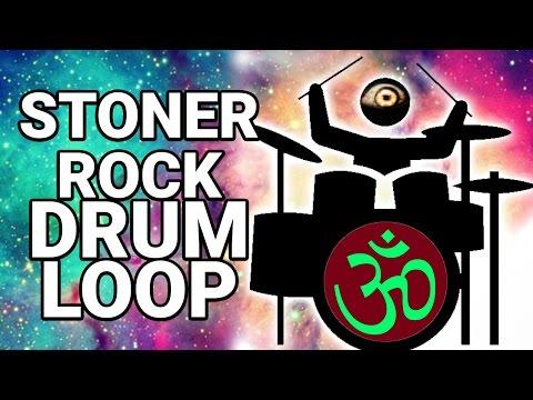 Free STONER ROCK DRUM LOOP #3 50 bpm