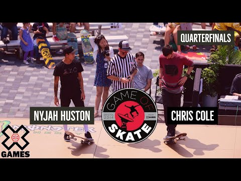 Thumbnail: Nyjah Huston vs. Chris Cole Game of Skate Quarterfinals - World of X Games