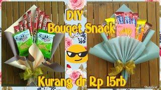 DIY Snack Bouqet    Buket Snack wisuda