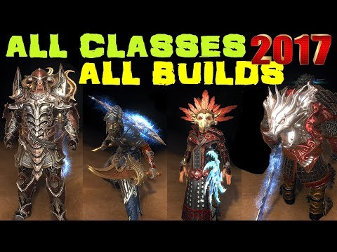 Neverwinter ALL CLASSES Review 2017 Part 1/4