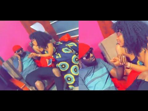 Eddy kenzo Corners Lynda Ddane in Studio