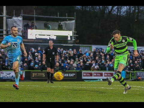HIGHLIGHTS: Forest Green Rovers 2 Coventry City 1