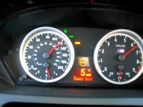 BMW M6 E63 155mph TOP SPEED SO QUICK - YouTube