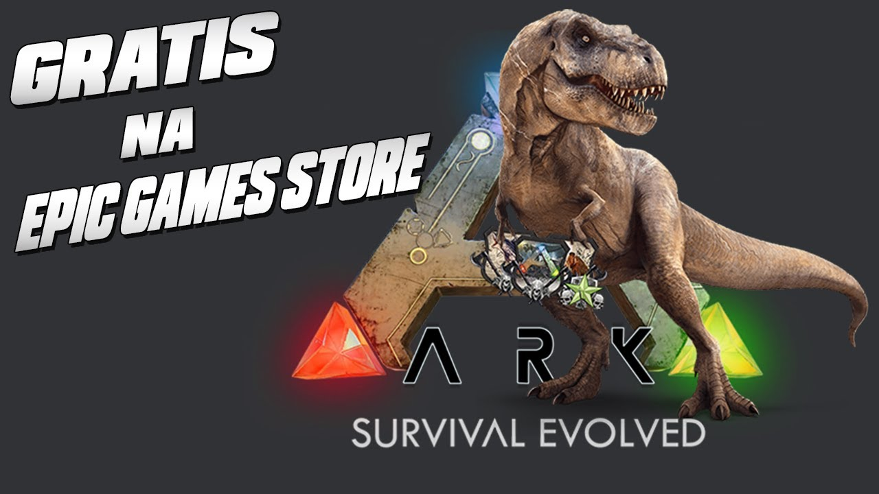 Grátis na Epic Games Store - ARK  Survival Evolved - Trailer