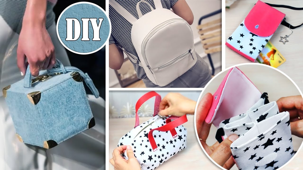 DIY SWEET WOMAN BAG & BACKPACK ~ Handmade Ideas No Difficult Processes