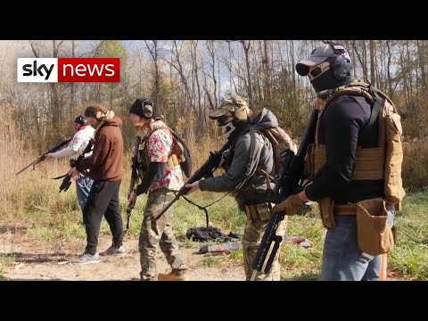US Election: Michigan militia preparing 'for civil war'