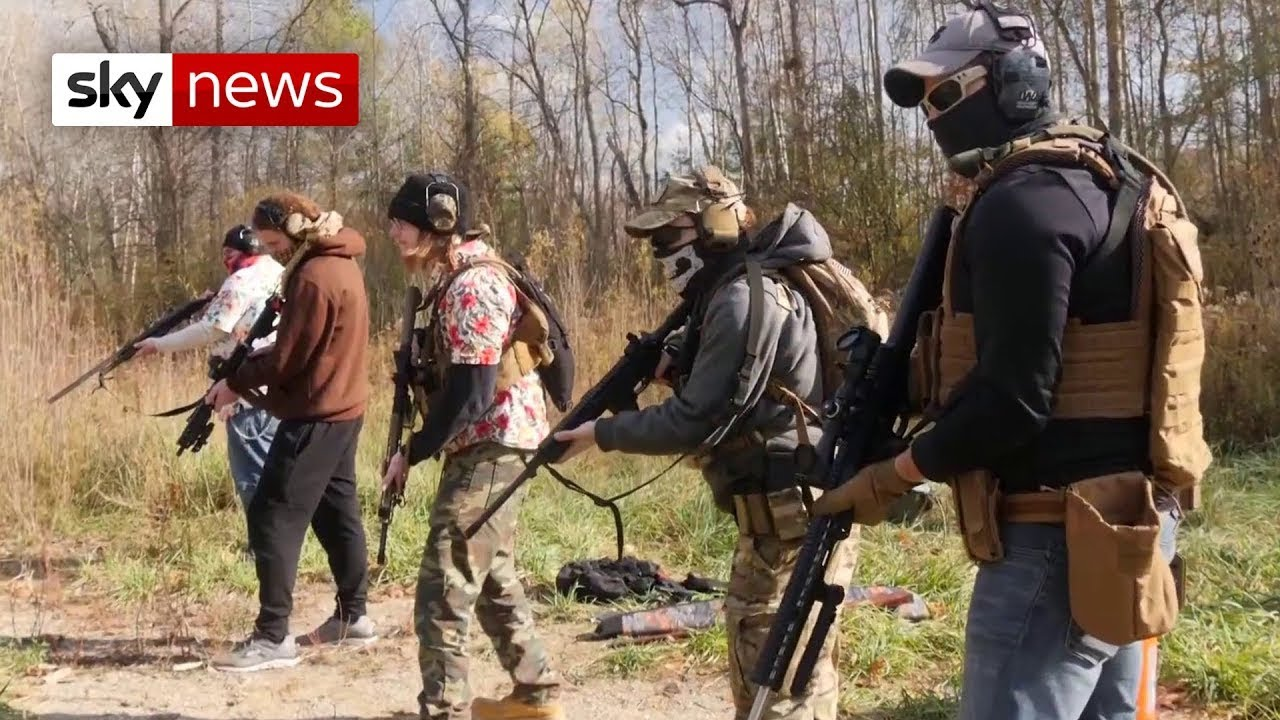 US Election: Michigan militia preparing 'for civil war'