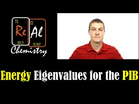 How to determine the particle in the box energy eigenvalues - Real Chemistry
