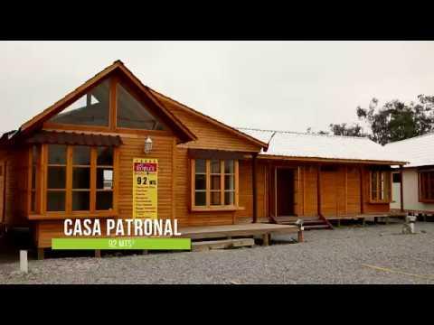 Casa patronal youtube - Casas de madera por dentro ...