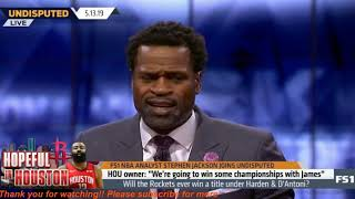 "Stephen Jackson STARTLE: Rockets owner""we"