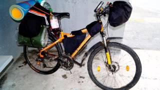 Велопрогулка от г. Екатеринбург - г. Реж  20 08 2014г.