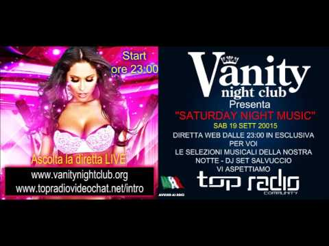 Saturday night music sab 19 sett Vanity night club