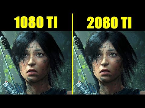 Shadow Of The Tomb Raider Ray Tracing On RTX 2080 TI Vs GTX 1080 TI Frame Rate Comparison thumbnail
