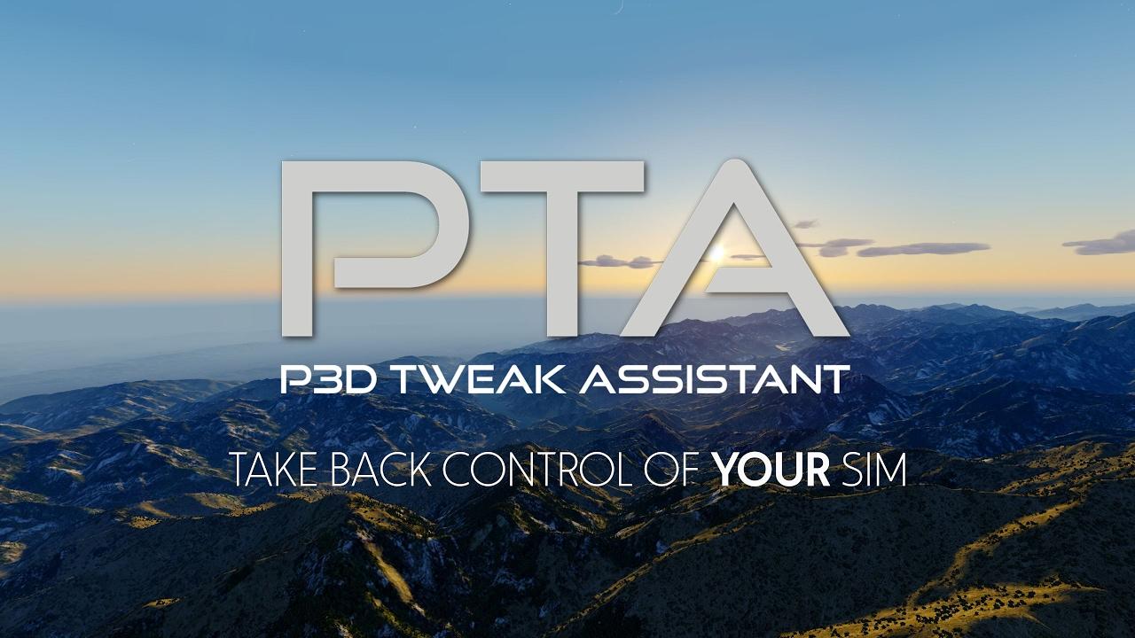 simMarket: SIMTWEAKS - PTA (PREPAR3D TWEAK ASSISTANT) FOR P3D V4