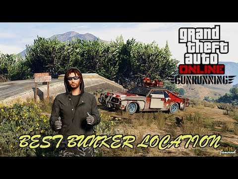 GTA 5 Online - Gunrunning - Best Bunker Location