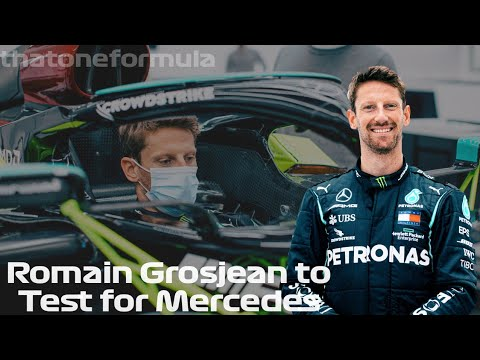 Download Romain Grosjean to Test the Mercedes Championship Winning car at French GP Weekend
