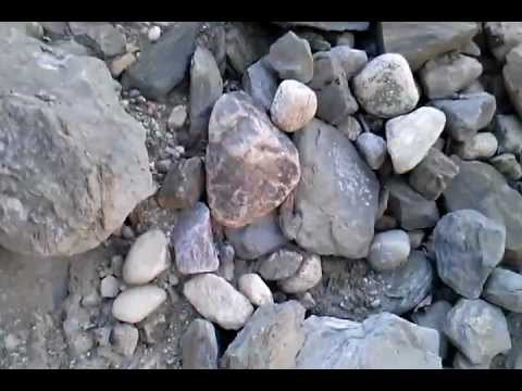 Differential weathering and geomorphology - YouTube