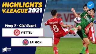 Highlights | Viettel – Sài Gòn | Trọng Hoàng sút