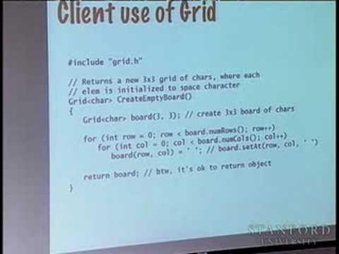 Lecture 5 | Programming Abstractions (Stanford)