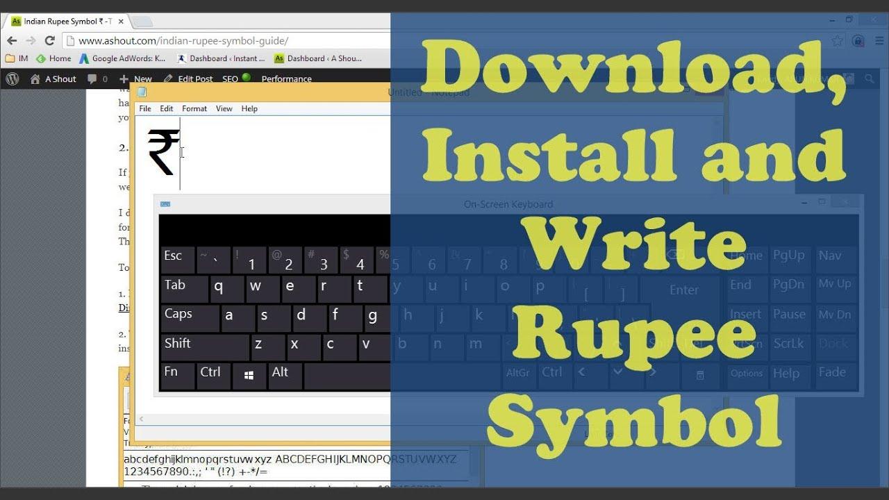 rupee symbol download rupee font install and write step by rupee symbol download rupee font install and write step by step biocorpaavc Choice Image