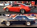 Grudge Wars Outlaw Luc Ricard VS Eric Tremblay Mustang Twin Turbo Finale Pont-Rouge