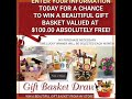 Win a free gift basket!  $100 value. No purchase necessary. www.tfrnj.com to enter