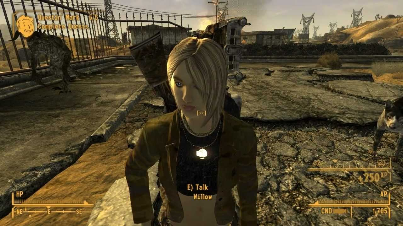 fallout new vegas mods willow companion part youtube