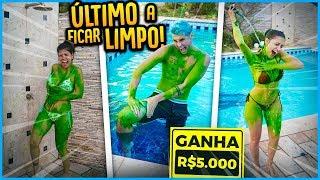 ÚLTIMO A FICAR LIMPO GANHA 5000R$ !! [ REZENDE EVIL ]