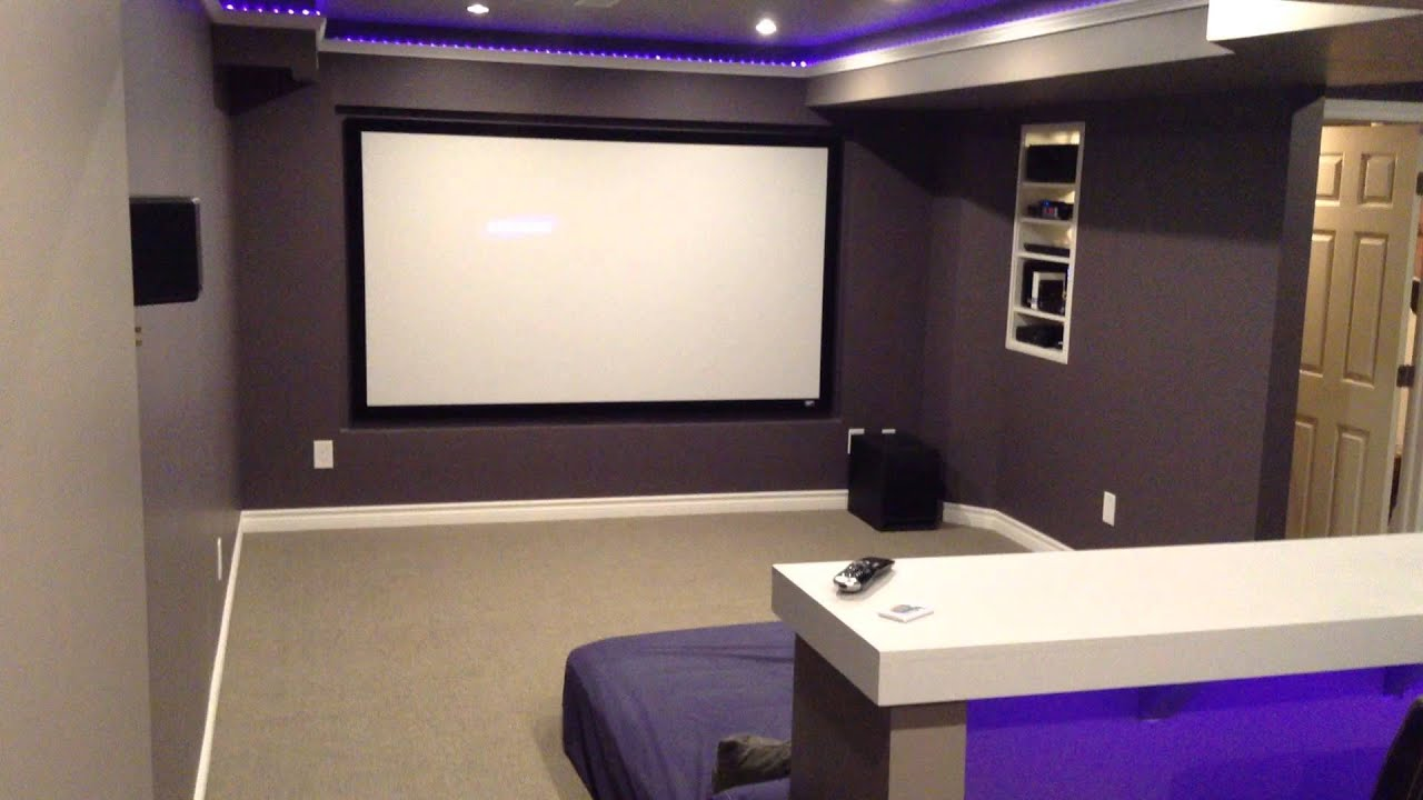 home theater cinema youtube. Black Bedroom Furniture Sets. Home Design Ideas