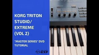 """Korg Triton Studio (Extreme) """"Master Series"""" DVD Tutorial"""