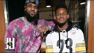 JuJu Smith-Schuster Recruits LeBron James to the Steelers thumbnail