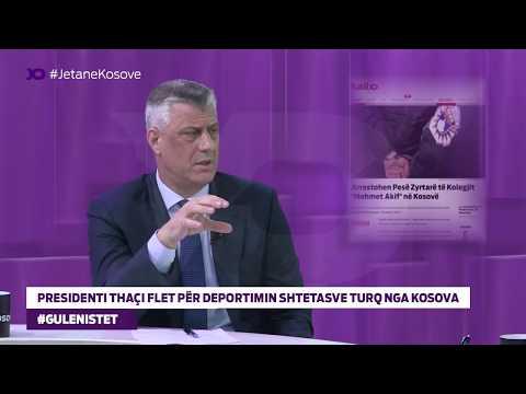 Presidenti Thaçi Flet për Deportimin Shtetasve Turq nga Kosova