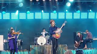 """Donna"" (NEW), ""Sleep on the Floor"", ""Cleopatra"" - The Lumineers on Jimmy Kimmel LIVE! 6/7/2019"