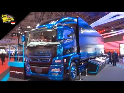 OTOBLITZ TV - Mitsubishi Fuso Truck And Bus Corporation At Tokyo Motor Show 2015