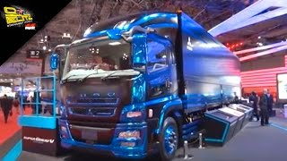 Video OTOBLITZ TV - Mitsubishi Fuso Truck and Bus Corporation at Tokyo Motor Show 2015 download MP3, 3GP, MP4, WEBM, AVI, FLV Juli 2018