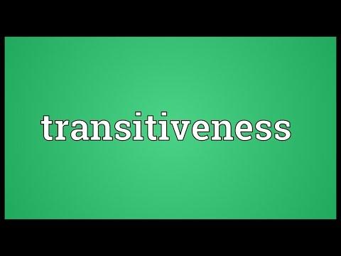 Header of transitiveness