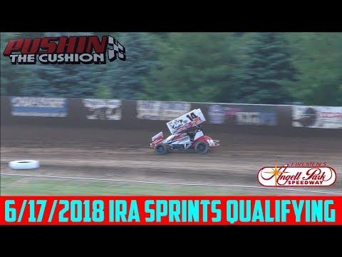 Angell Park Speedway - 6/17/2018 - IRA Sprints - Qualifying