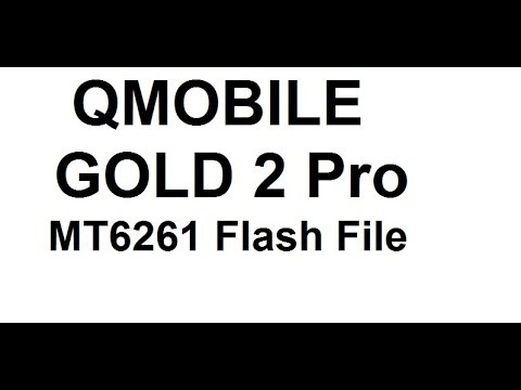 Q Mobile Gold 2 Pro Flash File