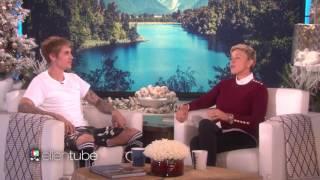 [Vietsub Ellen Show] Thông báo của Justin Bieber