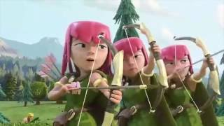 Clash of Clans - Over when it´s over (MV)