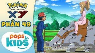 Tổng Hợp Hành Trình Thu Phục Pokémon Của Satoshi - Hoạt Hình Pokémon Tiếng Việt S17 XY - Phần 49