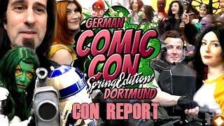 GERMAN COMIC CON DORTMUND 2019 - Spring Edition Report