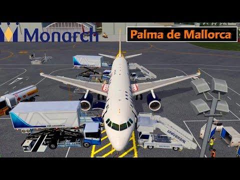 ✈️ X-Plane 11 | Monarch | LONDON (EGGW) to Palma De MALLORCA (LEPA) LIVE FLIGHT HD