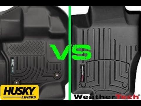 Weathertech Husky Liner Floor Mats Youtube