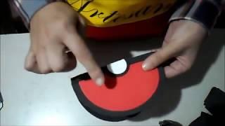 vídeo aula centro de mesa pokemon