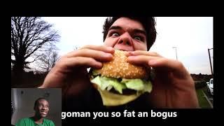 GO GET GONE - KWEBBELKOP & SLOGOMAN DISS TRACK (Official Music Video) REACTION!!!