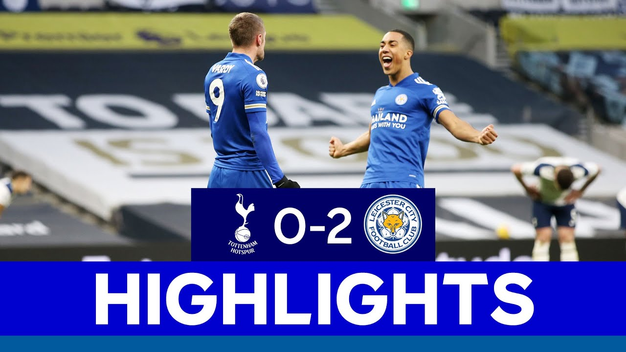 Incredible Win At Spurs For The Foxes | Tottenham Hotspur 0 Leicester City 2 | 2020/21