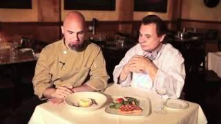 Lemon Chiffon Mousse Duets With Grilled Atlantic Salmon